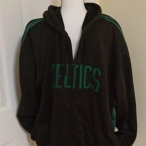 Hardwood Classics Celtics Rare Zip Hoodie Jacket